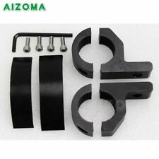 Aluminum Turn Signal Bracket Fork Holder 28mm Offroad Bar Mounting Support Clamp