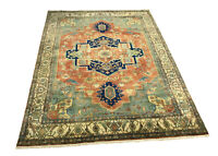 """Hand Knotted Serapi D113 wool rug carpet size 12'1""""x8'9"""""""