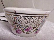 HAND PAINTED JAPANESE / CHINESE  PORCELAIN CUP