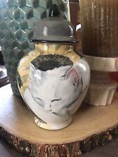 Custom Pet urn for ashes Cat urn cremation urn Sm memorial Resting Cat Kitty Urn