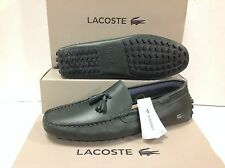 Lacoste Concours Tassle 8 Leather Men's Slip on Loafers Shoes, Size UK 8 / EU 42