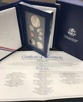 1993 Prestige Set- 1993 Bill of Rights U.S. Mint   Coin w Box & CoA C-205 / M