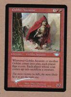 MTG - Goblin Assassin - Legions - Uncommon NM/MT - Foil Single Rare Card