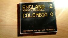 Kirsty MacColl England 2 Colombia 0 Rare 2 Track CD