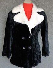 Faux Fur 3/4 length 60's Jacket by 'Target' Australia size 12-14