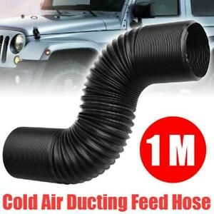 Air Filter 63mm Car Cold-Air Intake Hose Tube Pipe Ducting Feed Flexible Pipe AU