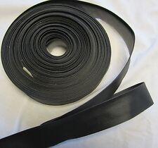 """Auto Carpet Bias Binding 1.25 """"Carpet Trim - Crafts edge binding  Black  10yards"""
