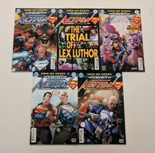 5 Superman DC comics ACTION COMICS #967 #968 #969 #970 #972 Trial of Lex Luthor