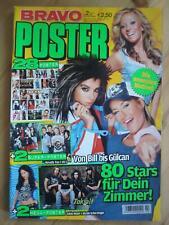 Bravo POSTER Nr. 2 2007 Nicole Scherzinger Tokio Hotel Sarah Connor Fanta4 TOP