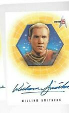 William Smithers 35th anniversary Star Trek TOS A27 autograph card