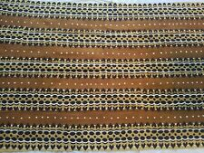 """Authentic African Handwoven 4 Colors Mud Cloth Fabric 62"""" by 40"""""""