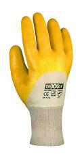teXXor 2356  Montage Nitril Schutz Handschuhe Arbeitshandschuhe Gelb  Gr. 7-11