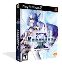 - Xenosaga Episode III Replacement Spare Game Case Box + Cover Art Only