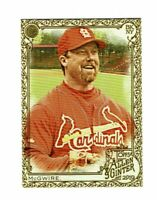 2019 Topps Allen & Ginter Gold #61 Mark McGwire St. Louis Cardinals