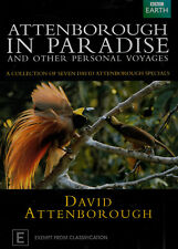 ATTENBOROUGH IN PARADISE Brand New but UNSEALED 2-DVD Set Region 4