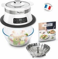 Moulinex VJ504010 VJ504-STEAM' Up VJ504 Kitchen Steam 8 Programmes Recipe Book