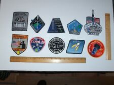 NASA SPACEX BOEING MCDONNELL DOUGLAS USAF DELTA ATLAS (10) ITEM SPACE PATCH LOT