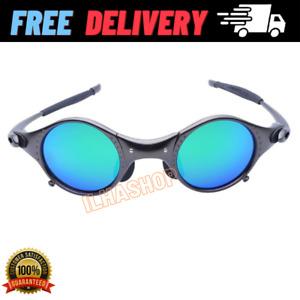 Polarized Iridium Round Sunglasses Madman Alloy Running Glasses Cycling Sport