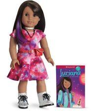 "American Girl LUCIANA DOLL & Book New NIB 18"" Astronaut STEM Lucianna Vega"