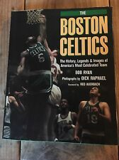 SIGNED ~ By HOF Dave Cowens ~ The Boston Celtics: The History ~ Bob Ryan ~ Rare