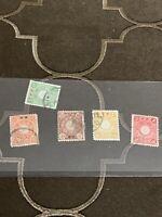 Old China Japan Stamp
