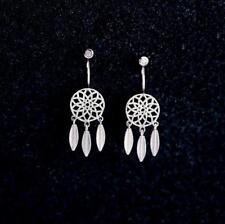 Dreamcatcher Earrings earring set, elegant ear jacket Cuff Sterling Silver