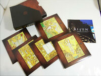Riven The Sequel to Myst 1997 PC CD-Rom Video Game Complete 5 Disc Set w/Manual