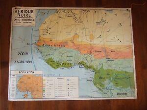 carte scolaire afrique noire d'expression française