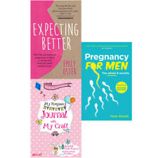 Pregnancy For Men,Expecting Better,Week by Week Pregnancy 3 Books Collection Set