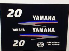 Yamaha Outboard Motor Decal Kit 20 HP 4 Stroke Kit
