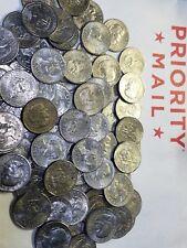 Bulk Lot 100 Real U.S. Denver Mint Circulated Susan B Anthony Dollars. 100 Coins