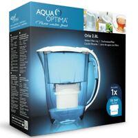 Aqua Optima Oria Water Filter Jug 2.8L +1 x 30 Day Evolve Cartridge 1 Month Pack