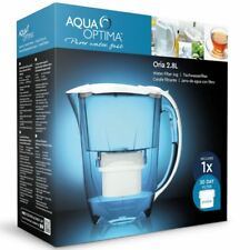 Aqua Optima Oria Water Filter Jug 2.8L +1 x 30 Day Evolve Cartridge 1 Month Pack