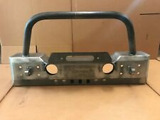 07-16 Jeep Wrangler JK  Winch Front Bumper With Bull Bar