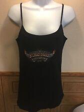 Large spaghetti strap tank top Sturgis Saloon South Dakota 2012 Women's, Biker