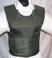 New Large Lo-Vis Plate Carrier Body Armor BulletProof Vest w Full IIIA Inserts
