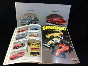 Burago Shop Catalogues - Three catalogues 1985 1986 1988 - all good condition