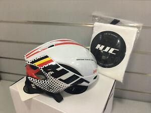 HJC Furion Aerodynamic Road Helmet 55-59cm Size M (Lotto Soudal-White)