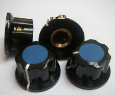 """2pc FOR BOSS GUITAR PEDAL EFFECTS AMPLIFIER MIXER 1/4"""" SHAFT BLUE ROTARY KNOBS B"""