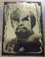 Star Trek DS9 Deep Space 9 Profiles Chase Card Latinum Profiles 2 of 9 Worf