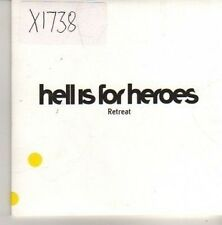 (CN64) Hell Is For Heroes, Retreat - 2003 DJ CD