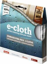 e-cloth Stainless Steel and Polishing Cleaning Cloth Pack - 2 Cloths - FREE P&P