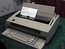 Refurb Ibm Wheelwriter 3 Typewriter With120 Day Warranty