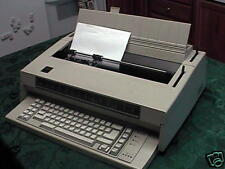 REFURB IBM Wheelwriter 3 Typewriter w/120 day warranty