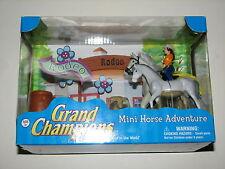 Grand Champions Mini Horse Adventure Rodeo Riding Empire Toys Model New MIB 2006