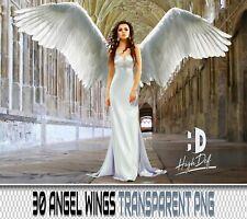 30 ANGEL WINGS TRANSPARENT PNG DIGITAL PHOTOSHOP OVERLAYS BACKDROPS BACKGROUNDS