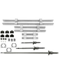 6Pcs SBR20 Linear Rail Set +SFU1605-350/650/1050mm Ballscrew BK/BF12 Kit For CNC
