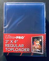 "Ultra Pro TOPLOADERS 3""x4"" ~~ PACK of 25pcs ~~ SHIPS FREE! [1 PACK = 25PCS]"