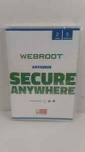 Webroot SecureAnywhere AntiVirus + Identity Protect | 2 Years, 5 PC/MAC DOWNLOAD