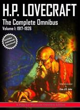 H. P. Lovecraft, the Complete Omnibus Collection, Volume I : 1917-1927: By Lo...